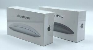 Apple Magic Mouse 2 (Rechargeable, Wireless, Bluetooth) Grey / White - Brand New