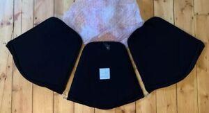 Knoll Studio Seat Pad Only For Bertoia Wire Diamond Chair In Black Kvadrat Fabic
