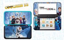 Die eiskönigin - vinyl Skin Aufkleber für Nintendo NEW 2DS XL (C-Stick)- réf 193