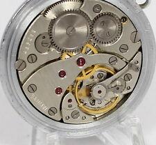 Vintage MOLNIJA MOLNIA Russian Slim Pocket Watch 1960's 18 Jewels #579