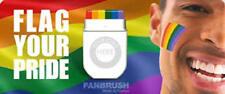 LGBT+ RAINBOW FLAG FACE PAINT PAINTING GAY LESBIAN PRIDE FESTIVAL MULTI COLOURS