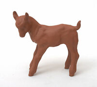 Hertwig & Co Katzhutte Art Deco Terracotta Standing Goat Kid 1914-1945