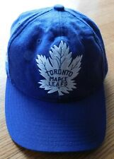 VINTAGE TORONTO MAPLE LEAFS CAP / CCM / SNAP BACK / WELL USED CONDITION