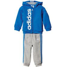 Abbigliamento tuta da ginnastici bianchi marca adidas per bambini dai 2 ai 16 anni