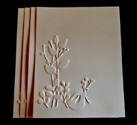 STAMPIN' UP+(4)  SWEET BIRD EMBOSSED CARD FRONT OR BACKGROUND. ALL SEASON.