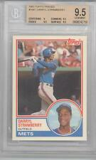 1983 Topps Traded Darryl Strawberry (Rookie Card) (#108T) BGS9.5 BGS