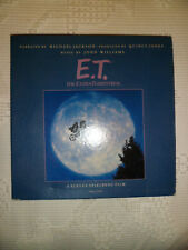 E.T Extra Terrestrial Record Album Narrated by Michael Jackson