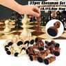Chess Game Wooden Carved Chess Pieces Hand Crafted Set Chessman 10.5cm King