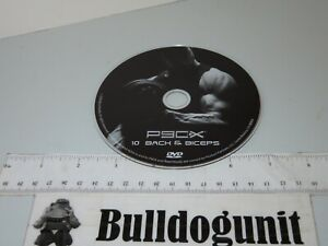 P90X Extreme Home Fitness Workouts Back & Biceps Disc 10 DVD Disc Only