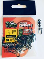 High Quality Rolling Snap Link Swivels Size #4 All Type Fishing Carp Coarse Sea