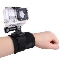360 Rotating Arm Wrist Strap Band Mount Holder For Gopro Hero 2 3 3+ 4 SJ4000