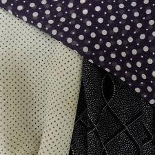 Soft Yoryu Crinkle Chiffon Polyester Dressmaking Fabric with Spots & Dots