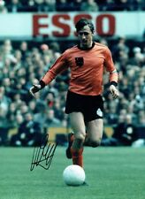 Johan CRUYFF Signed Autograph Holland Dutch Legend 16x12 Photo 2 AFTAL COA