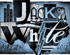 Jack White Concert Poster Austin 360 Amphitheater Print 5/2/2018 Numbered to 441