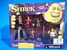 SHREK  Mini Figures - DULOC DUNGEON CREW - 2001 McFARLANE TOYS FACTORY  SEALED