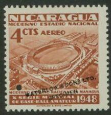 Nicaragua 1949 Stadium 4c World Series color sample-1
