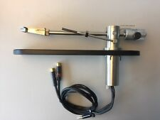 ULTRA RARE FULLY RESTORED NM LENCO P77 STUDIO TONEARM WITH TD 124 ARMBOARD USED