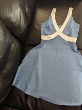 Blue Baby Doll Dress Size Small