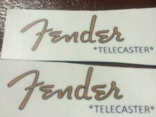 1950s Fender telecaster headstock waterslide restoration logo decal