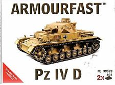 Armourfast Panzer IV D in 1/72 99028 St