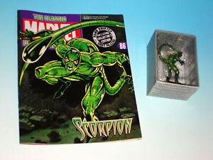 Scorpion Statue Marvel Classic Collection Die-Cast Figurine Spider-Man New #86