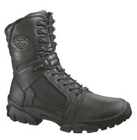 Harley-Davidson® Men's Lynx Waterproof Black Leather Motorcycle Boots D95149