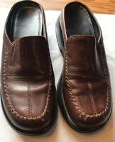 DANSKO Brown Professional Leather Slip  on Women Size 39 (8.5-9 US) Nurse Chef