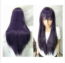 """80CM/32"""" Long straight Cosplay Fashion Wig heat resistant 16 colors"""