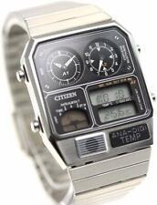 CITIZEN ANA-DIGI TEMP Reproduction Model Watch Chronograph Silver JG2101-78E