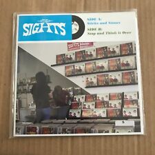 """Sights - Sticks And Stones - 7"""" Single - Discount For 2+"""