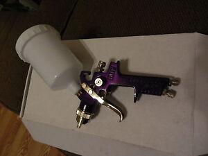HVLP spray gun  20 oz. 6cfm stainless nozz with cup ford gm mopar pontiac dodge