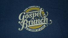 Kirk Franklin's GOSPEL BRUNCH - HOUSE OF BLUES Official Merchandise Shirt LARGE