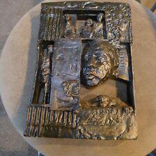 Modernist Sculpture By Ziamonon?? 1969 Bronze Composite