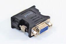 DVI-A auf VGA Adapter D-SUB 12+5 pol. Kabel Analog Stecker TFT Monitore Beamer