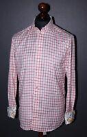 Eton mens cufflink shirt Size 40 15 3/4 Slim fit