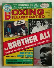 BOXING ILLUSTRATED Magazine ~ June 1975 ~ MUHAMMAD ALI / Foreman ~ EXCELLENT