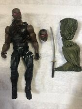 "Marvel Legends 6"" scale figure Blade Man Thing BAF series complete Preowned"