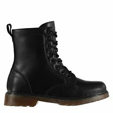 Miso Womens Ladies Brandi Lace Up Outdoors Walking Casual Boots Shoes