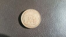 British East Africa 1924 - 1 silver Shilling - King Georgius V coin.