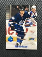 1999-00 TOPPS STADIUM CLUB MURRAY BARON FIRST DAY ISSUE #ed 34/150