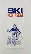 1980? Trail Ridge Ski Area Vintage Brochure - Lost Ski Area -Ski Nebraska