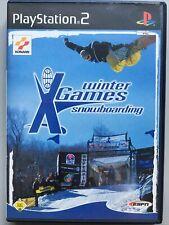 ESPN X-Games Snowboarding (Sony PlayStation 2, 2001, DVD-Box)