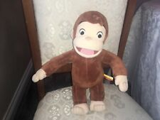 "CURIOUS GEORGE 12"" BENDABLE SOFT TOY PLUSH VGC"