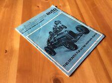 MINIATURE AUTO MAGAZINE- BRITAINS FIRST MODEL CAR MAGAZINE- JUNE 1966
