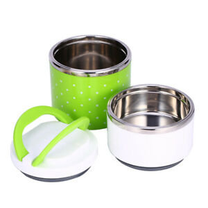 With Double Handles Stackable Bento Box Food Container Lunch Box for Men Women