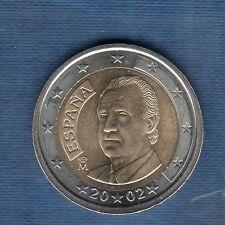 Espagne - 2002 - 2 Euro - Pièce neuve de rouleau -
