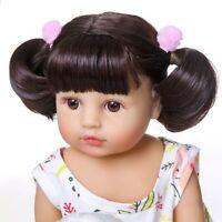 22inch Lifelike Reborn Baby Doll 55cm Full Body Toddler Girls Lovely Kids Gift