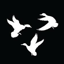 ducks vinyl decals, ducks unlimited, seperate ducks