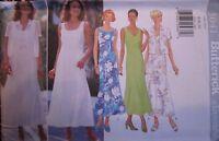 Vintage Butterick SEWING Pattern 5041 Misses Summer Dress 6-10 UNCUT OOP NEW FF