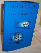 Summing Up Walk Through Century by Gurney hc 1991 Autobiography Orlando Florida